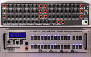 PASS (Professional Audio Switcher System) - MIDI programmable audio switcher